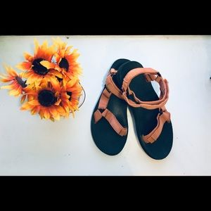 Teva Shoes - Red Teva Sandals
